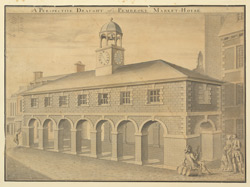 A Perspective Draught of Pembroke Market-House